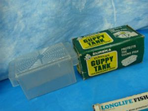 Vintage Eureka Floating Guppy Tank and Breeding Trap