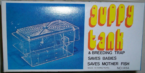 Vintage Guppy Tank & Breeding Trap No.148A