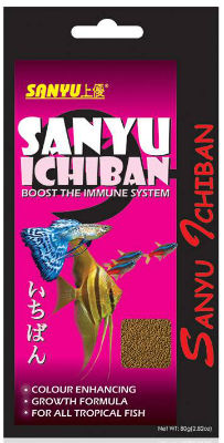 SANYU ICHIBAN TROPICAL FISH FOOD FOR GUPPIES